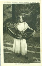Danseuse martiniquaise / Exposition coloniale internationale |