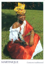 Martinique, costume traditionnel / Photo P. Gilloux | Gilloux, P. - Photographe. Auteur